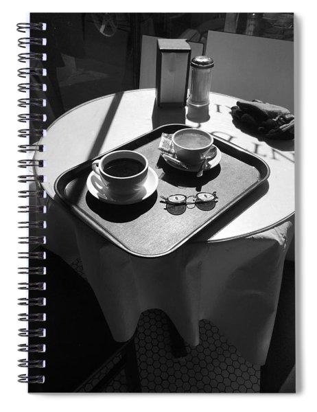 Crescent D'or New Orleans Spiral Notebook