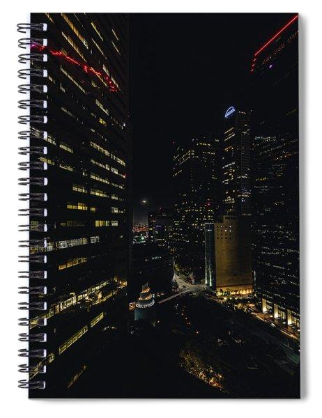 Crescent Moon Spiral Notebook