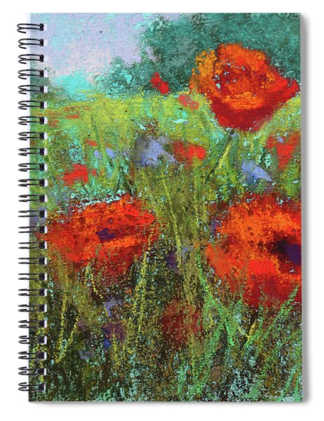 Crimson Seranade Spiral Notebook