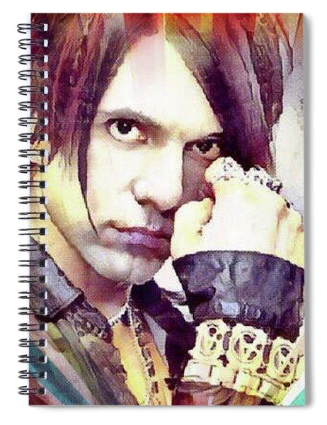 Criss Angel Spiral Notebook