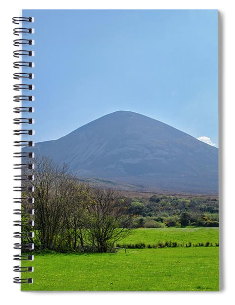 Croagh Patrick In County Mayo Ireland Spiral Notebook