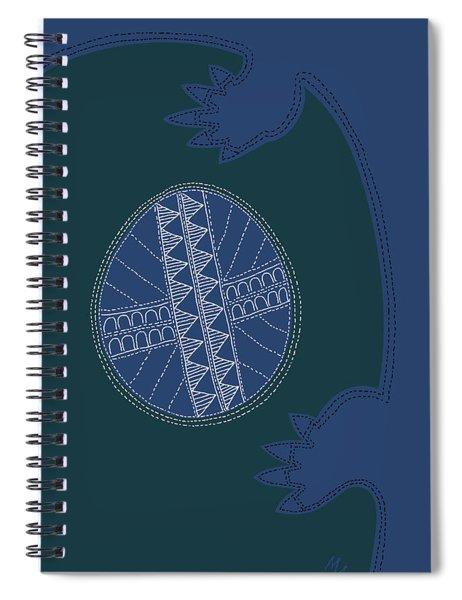 Crocodile Egg Spiral Notebook