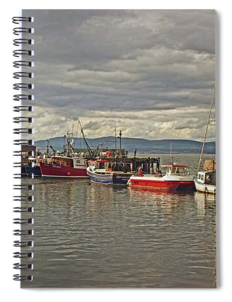 Cromarty. The Harbour. Spiral Notebook