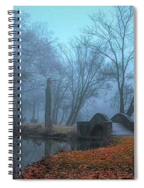 Crossing Into Winter Spiral Notebook