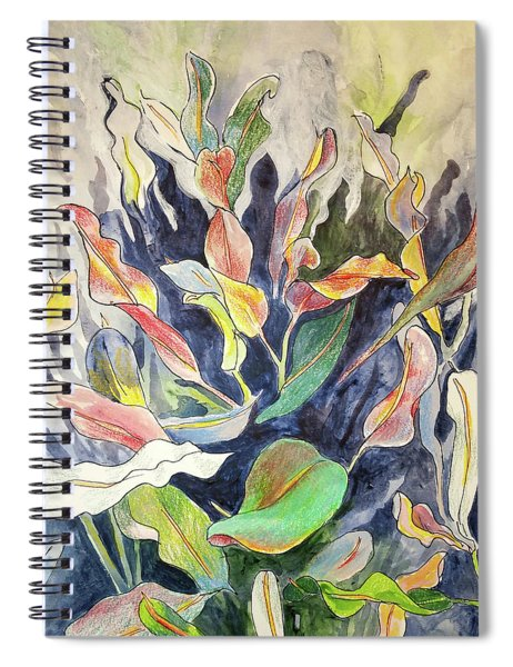 Croton Plant Spiral Notebook