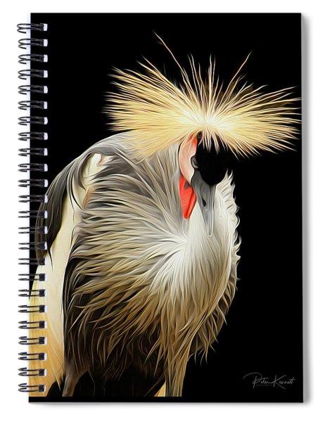 Crowned Crane Spiral Notebook