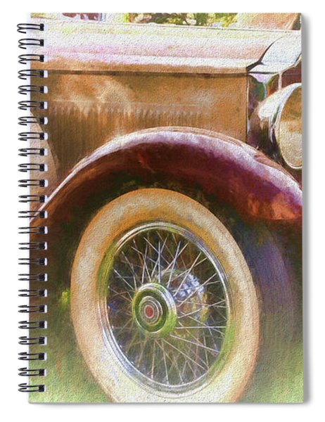 Cruise Into Tomorrow With Yesterday's Wheels Spiral Notebook