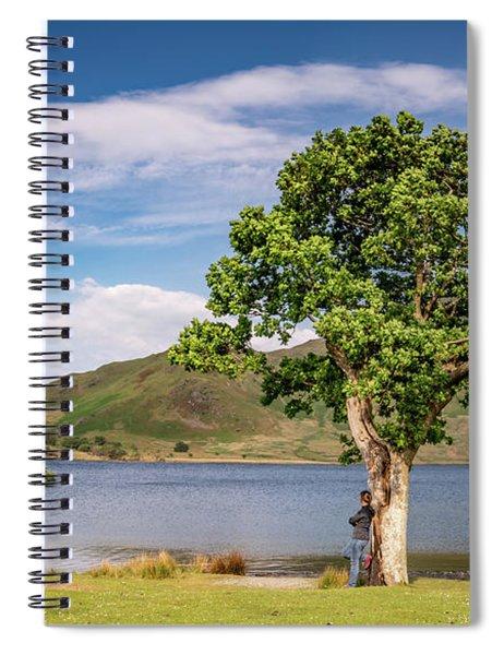 Crummock Water View Spiral Notebook