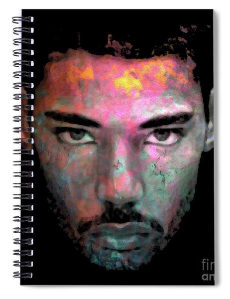 Cryptofacia No. 87 - Max Spiral Notebook