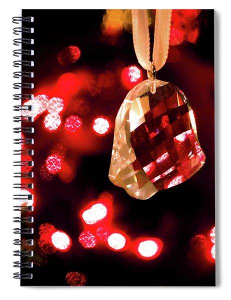 Crystal Bell Spiral Notebook