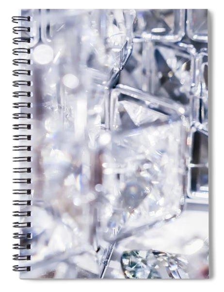 Crystal Bling I Spiral Notebook