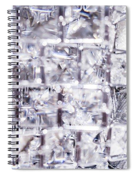Crystal Bling Iv Spiral Notebook