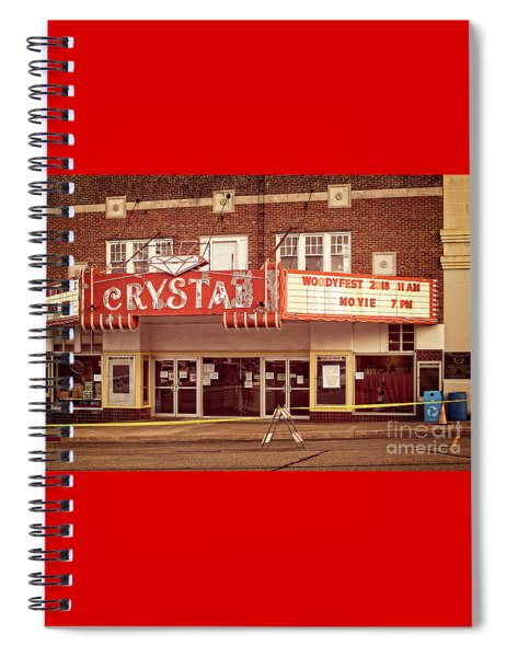 Crystal Theater Spiral Notebook