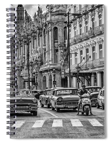 Cuba Traffic Spiral Notebook