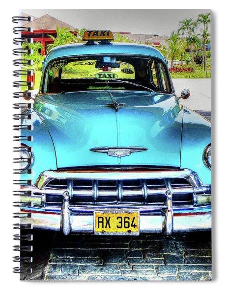 Cuban Taxi Spiral Notebook