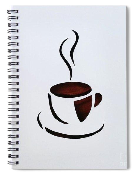 Cuppa Spiral Notebook