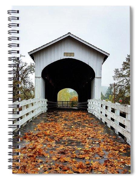 Curin Covered Bridge 1 Spiral Notebook