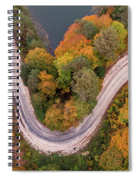 Curved Spiral Notebook