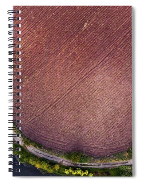 Curved Pathway Spiral Notebook