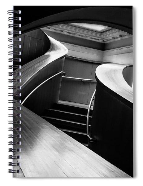 Curves  Spiral Notebook