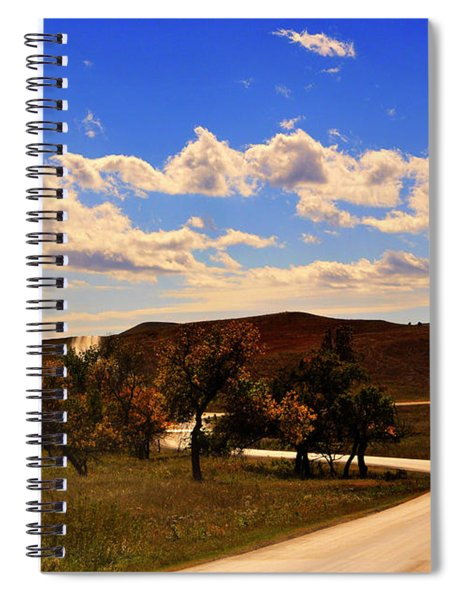 Custer State Park South Dakota United States Of America Spiral Notebook