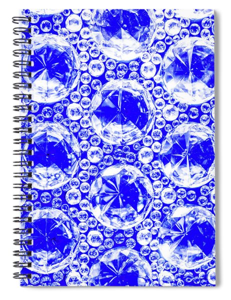Cut Glass Beads 1 Spiral Notebook