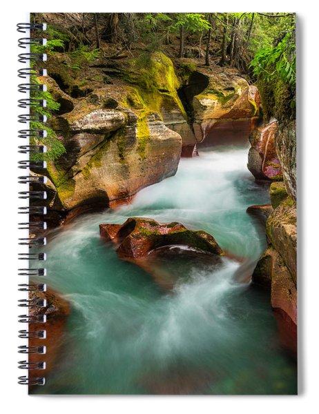 Cut Through The Heart Spiral Notebook