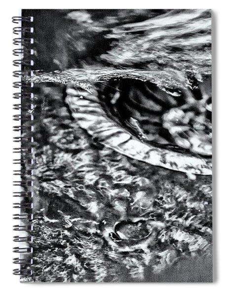 Cutlery Tsunami Spiral Notebook