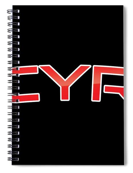 Cyr Spiral Notebook