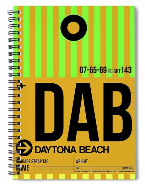 Dab Daytona Beach Luggage Tag I Spiral Notebook
