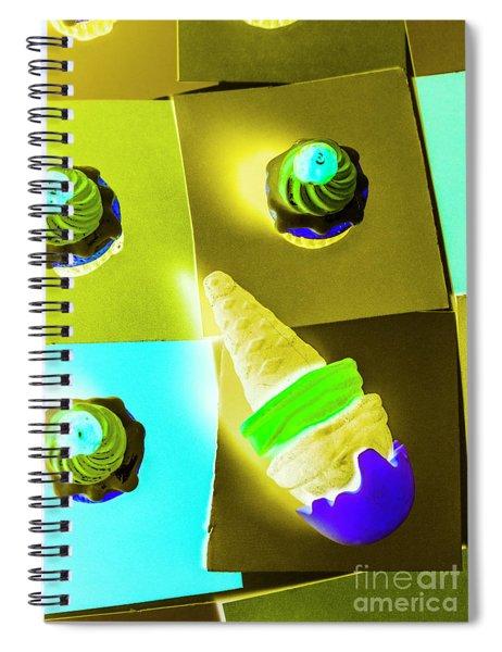 Dairy Design Spiral Notebook