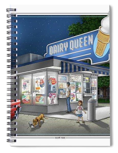 Dairy Queen Spiral Notebook