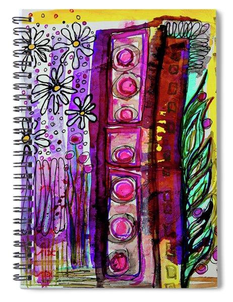 Daisy Field Spiral Notebook