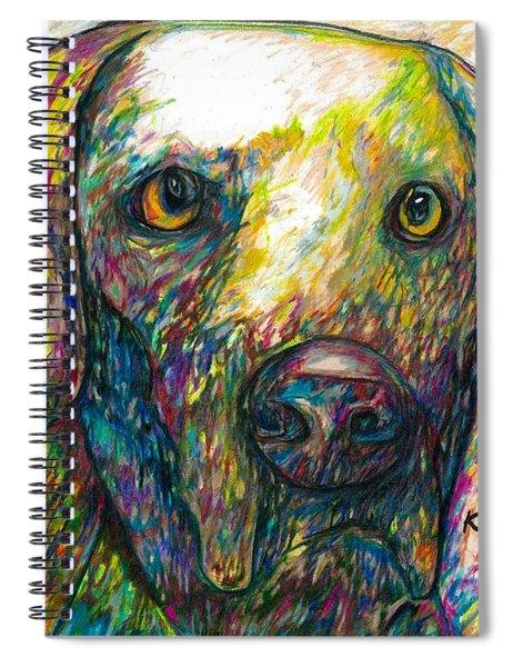 Daisy The Dog Spiral Notebook
