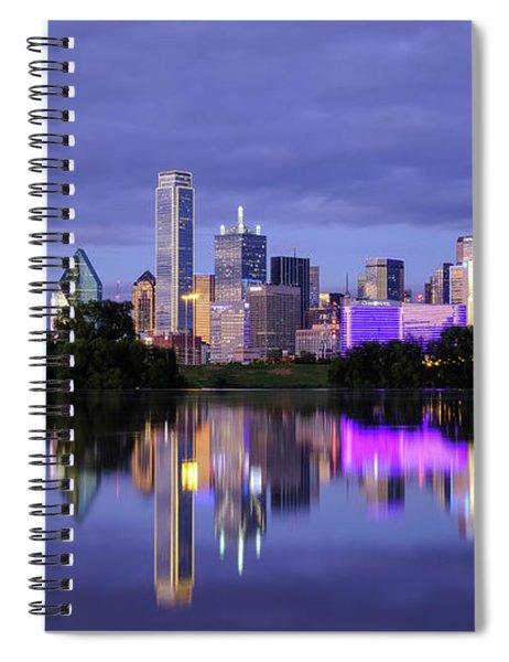 Dallas Cityscape Spiral Notebook
