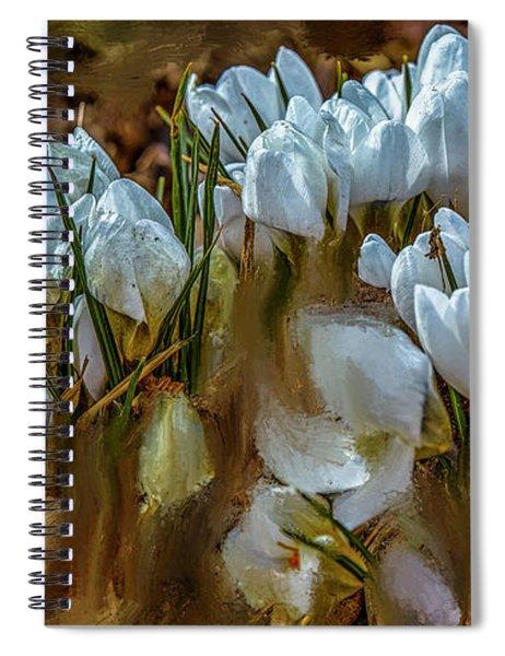 Dance In White #i6 Spiral Notebook