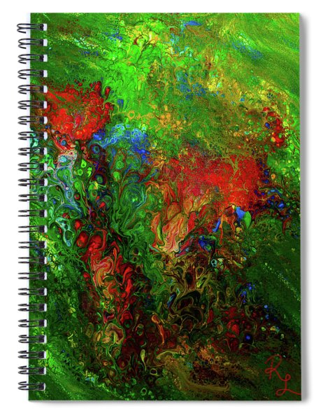 Dance Of The Dragon Spiral Notebook