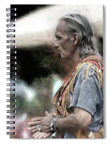 Dance Of The Woodland Elder Spiral Notebook