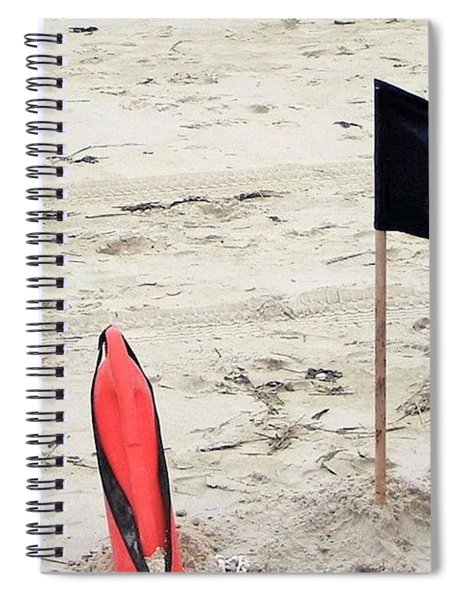 Dangerous Surf Spiral Notebook