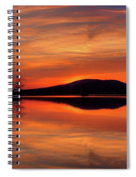 Dan's Sunset Spiral Notebook