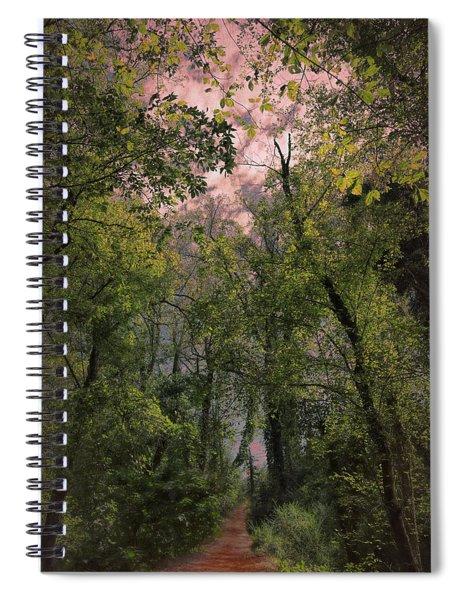 Dare To Enter Spiral Notebook