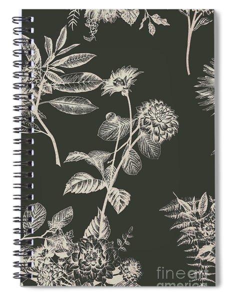 Dark Botanics  Spiral Notebook