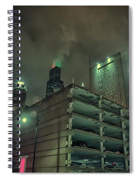 Dark City Spiral Notebook