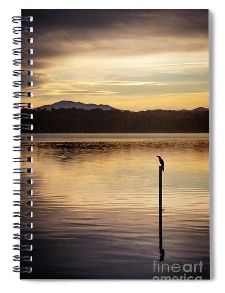Dark Echoes Spiral Notebook