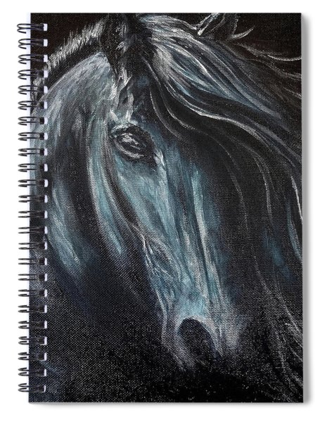 Dark Horse Spiral Notebook