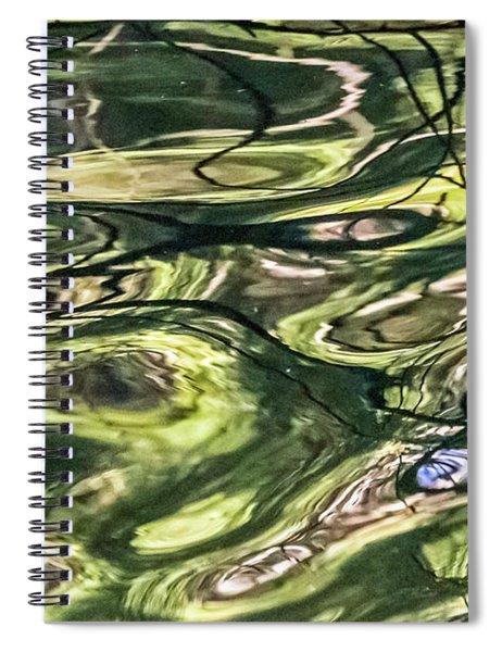 Dark Reflections Spiral Notebook