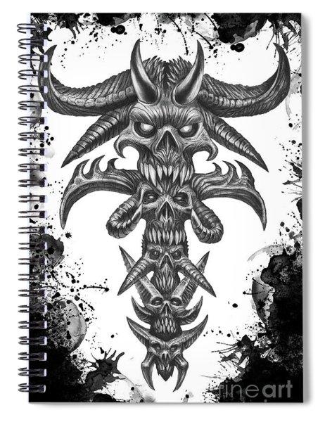 Dark Totem  Spiral Notebook