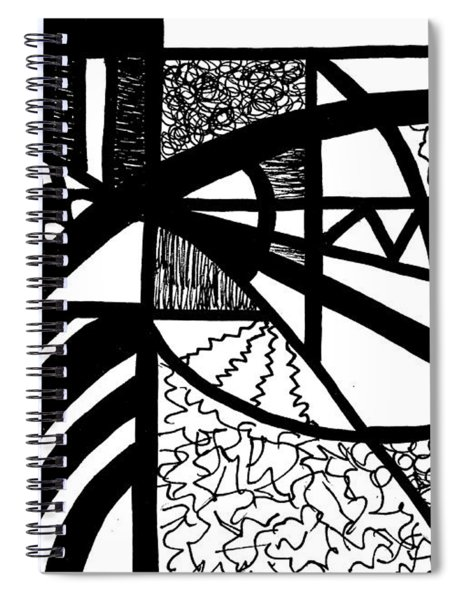 Darkness And Light 2 Spiral Notebook