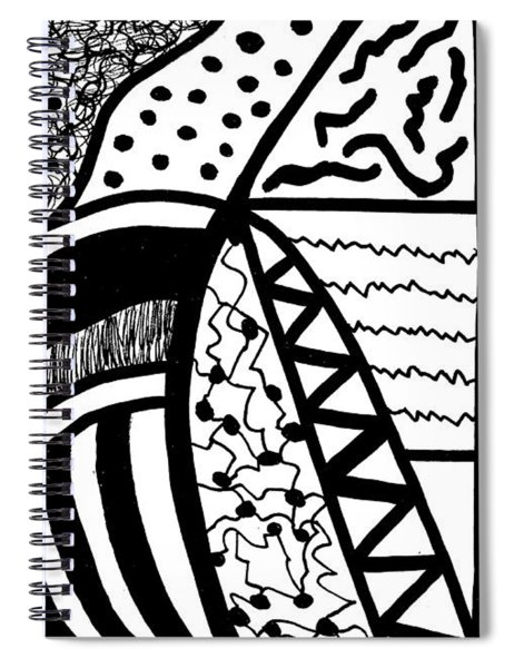 Darkness And Light 4 Spiral Notebook