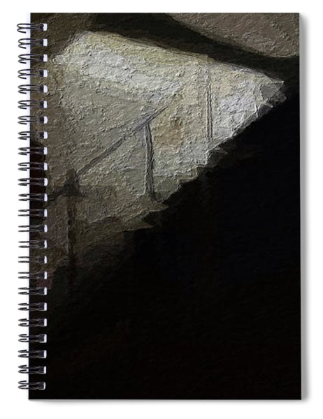 Darkness Welcomes You Spiral Notebook
